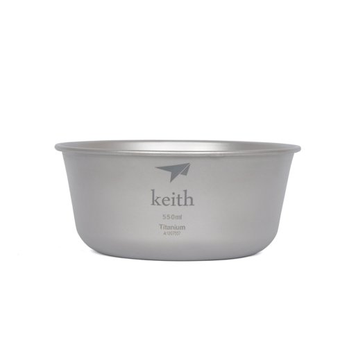 Keith純鈦 KT321碗(550ml)