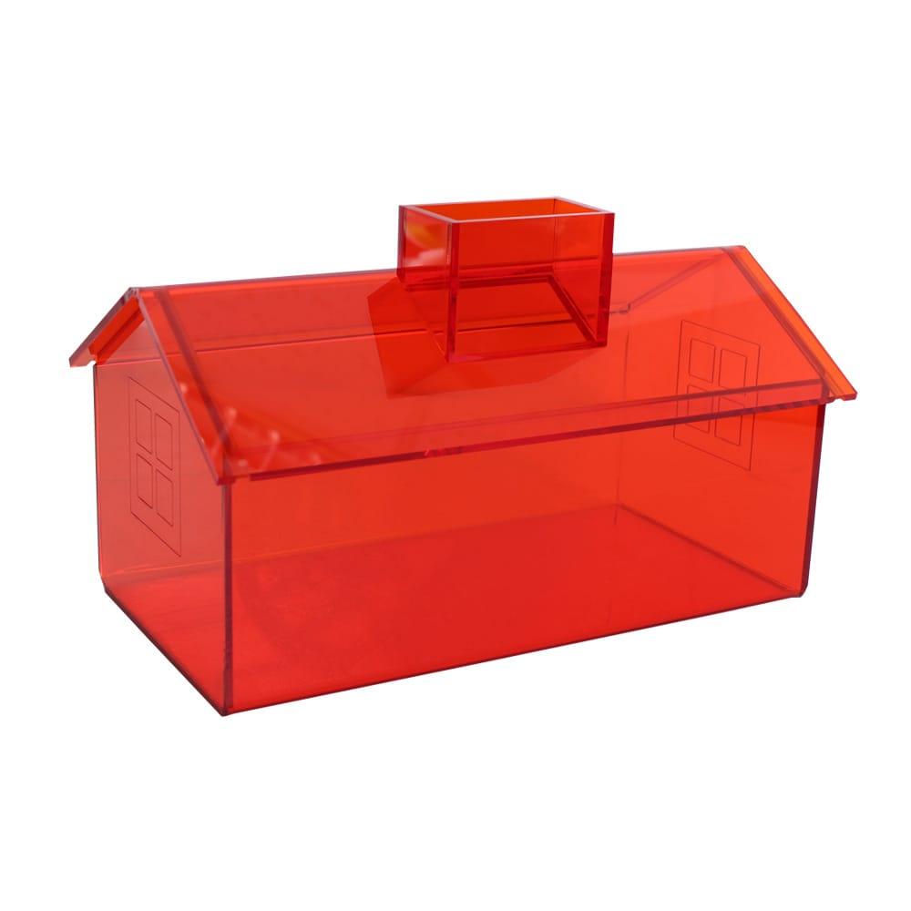 Lovel 加拿大設計經典家飾-面紙盒/紙巾盒(陽光橘)