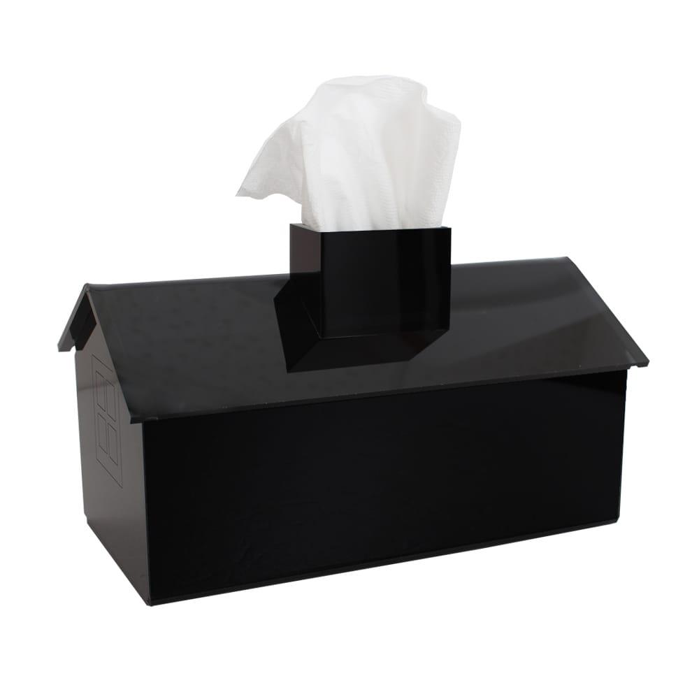 Lovel 加拿大設計經典家飾-面紙盒/紙巾盒(鋼琴黑)