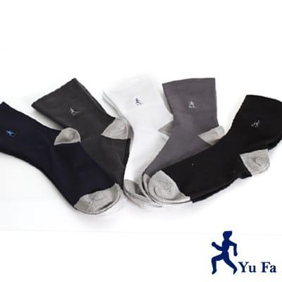 【YuFa】銀纖維竹炭抑菌防臭健康紳士襪3入組