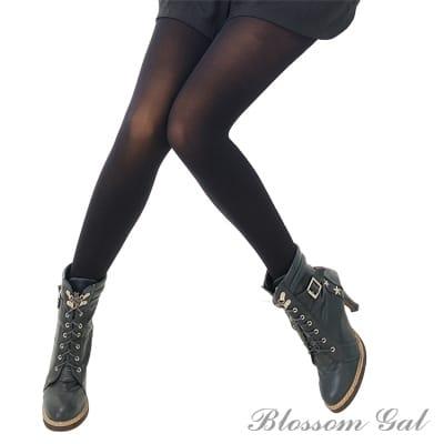Blossom Gal日本製保暖禦寒薄質毛料褲襪(共三色)