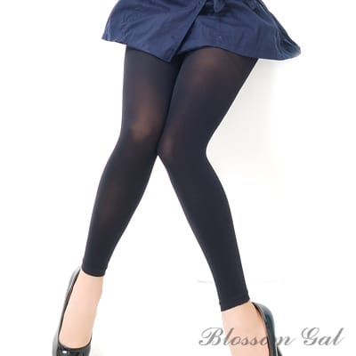 Blossom Gal漸進式180丹厚質素面九分褲襪(共四色)