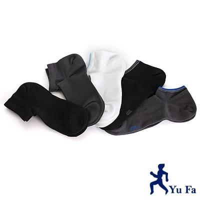【YuFa】90˚直角不滑落設計加大船型襪25-28公分12入組
