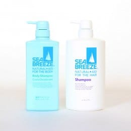 SEA BREEZE 海洋微風 活力清香洗髮/沐浴乳2件組(600ml)