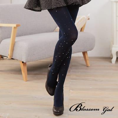 Blossom Gal韓國時尚華麗水鑽點點褲襪(共四色)