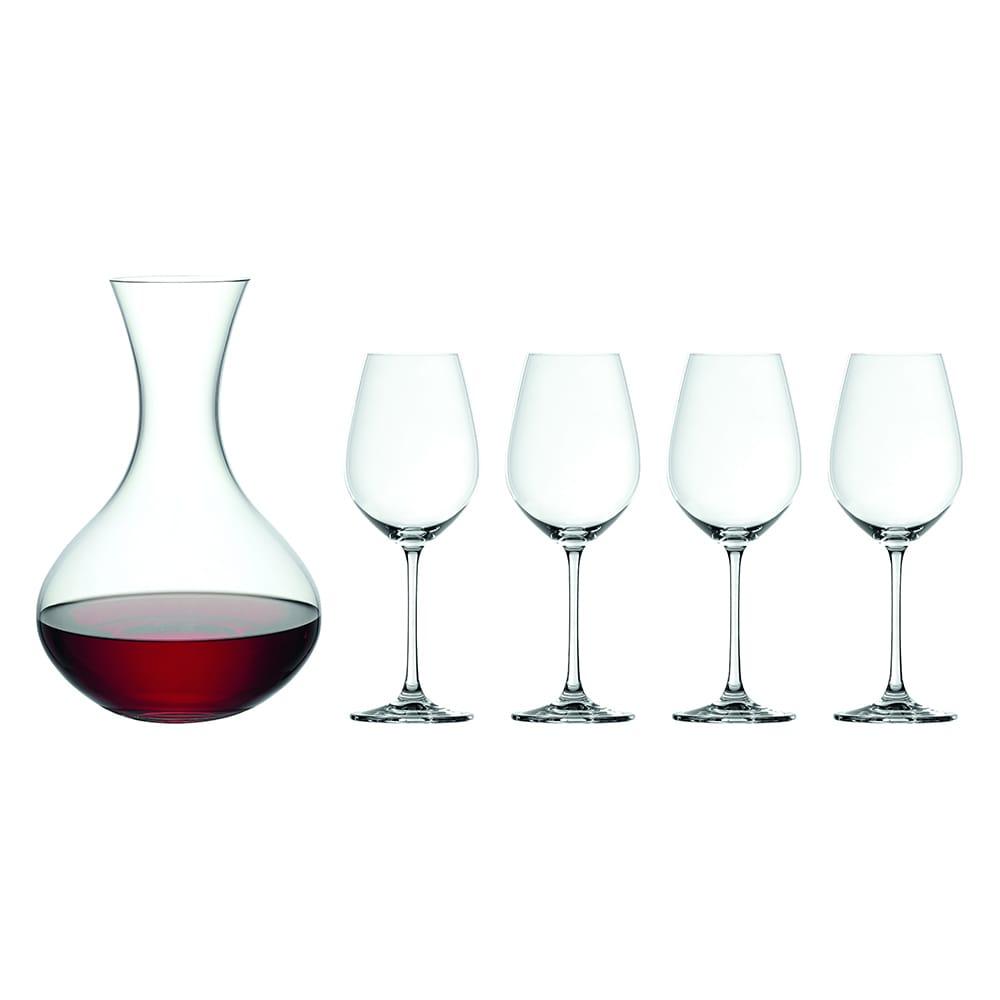 德國Spiegelau Salute 紅酒杯+醒酒器組(5件入)