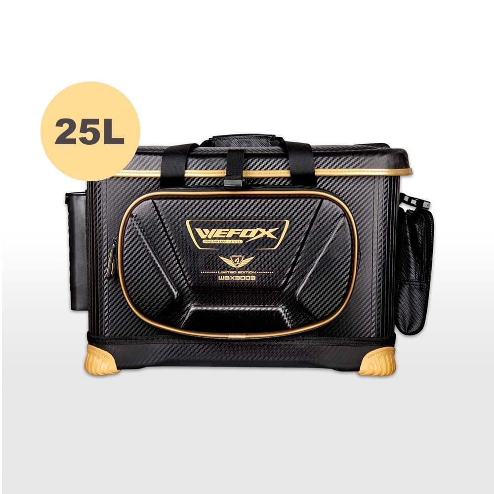 VFOX WBX-3003磯釣冰箱/軟式置物箱25L(黑色)
