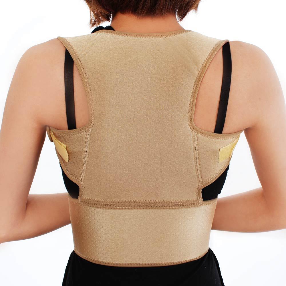 Roberta諾貝達-二合一背脊矯正護腰帶(M-L/L-XL)