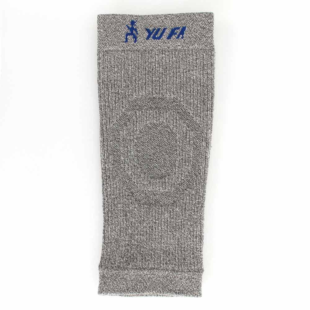 YuFa裕發 負離子鍺紗側條加強彈力機能護膝(保暖毛巾底)