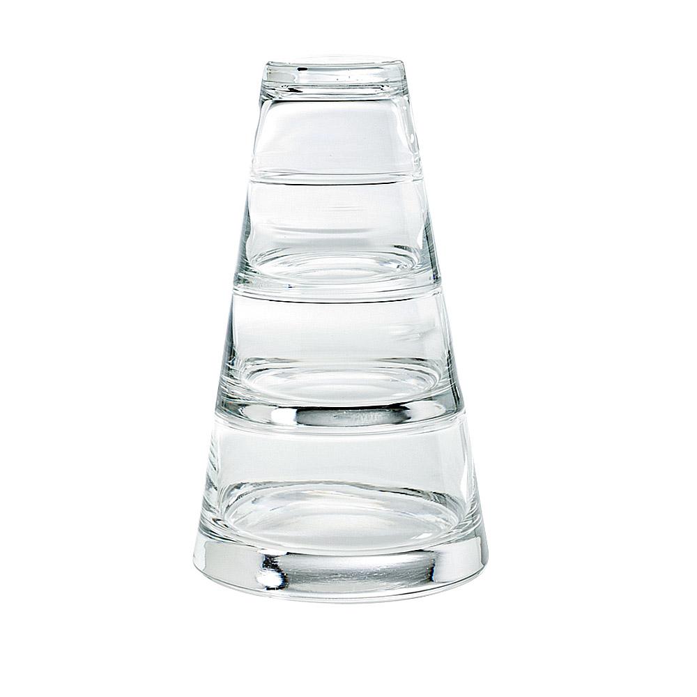 限定88折│比利時Durobor 金字塔杯組-四層