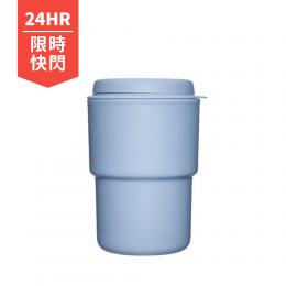 今日限定|日本 Rivers WALLMUG DEMITA隨行杯 290ml-藍