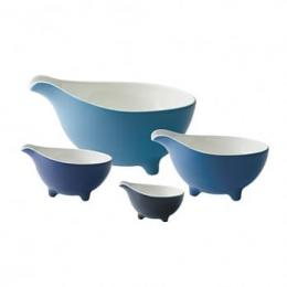 清倉6折|Loveramics Tripod 碗4件組 (藍色)