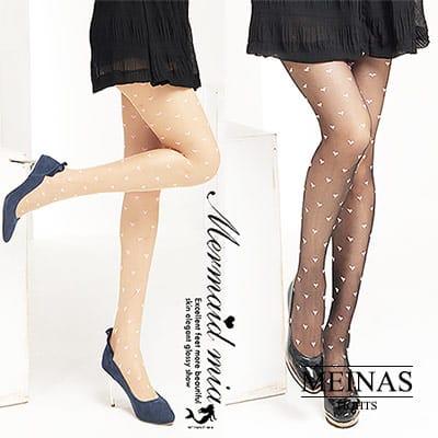 美娜斯 粉紅愛心絲襪/褲襪(#179)共2色