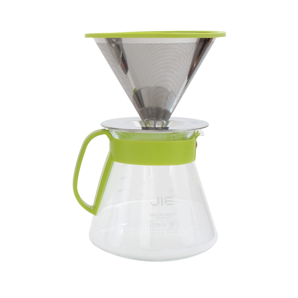 JIE 繽紛咖啡濾杯組600ml(共3色)