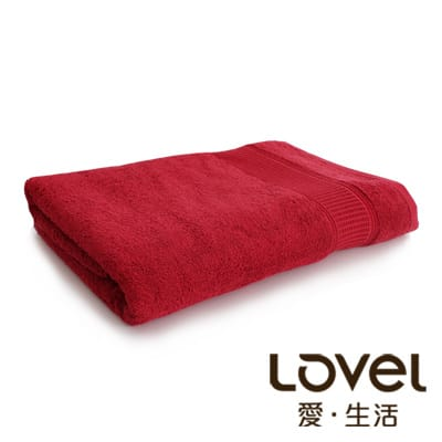 lovel 緹緞質感厚實浴巾(共三色)