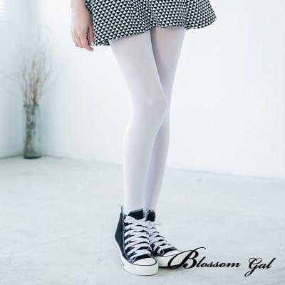 Blossom Gal 基本款微透光絲襪(白)