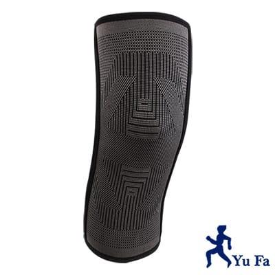 裕發YUFA 3D編織竹炭彈性機能護膝(側條加強型)