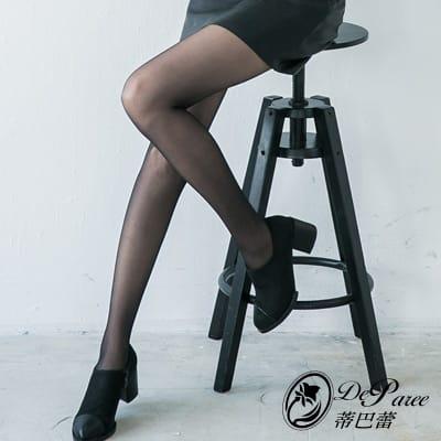 蒂巴蕾豐盈輕體。韌。4040彈性絲襪(共三色)
