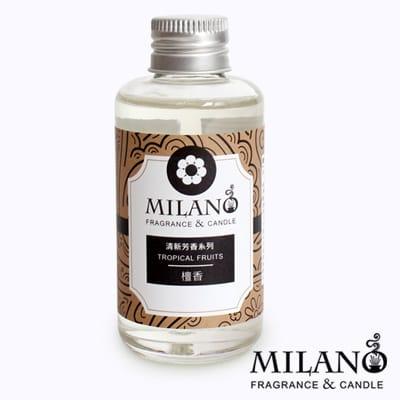 Milano 經典法國香氛精油擴香單瓶組(檀香)