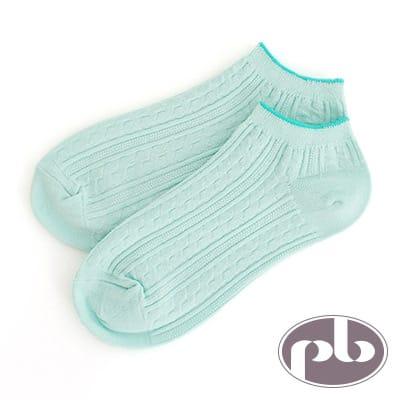 貝柔 夢幻公主萊卡超彈性船型襪(綠)