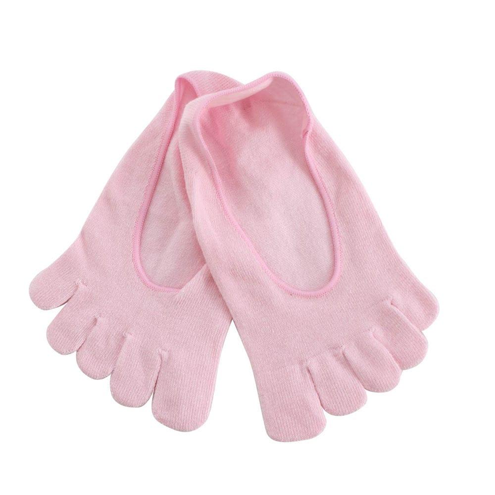 Blossom Gal 超短矽膠隱形五指襪(粉)