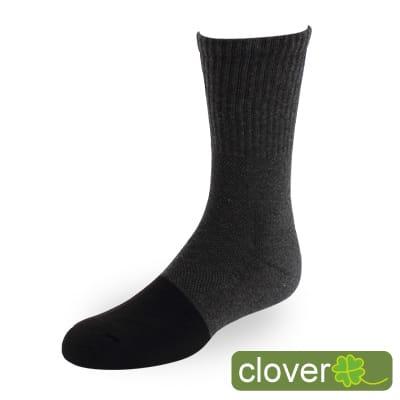 Clover甲殼素&冰涼紗抑菌吸排健康3/4運動襪12入組(共四色)