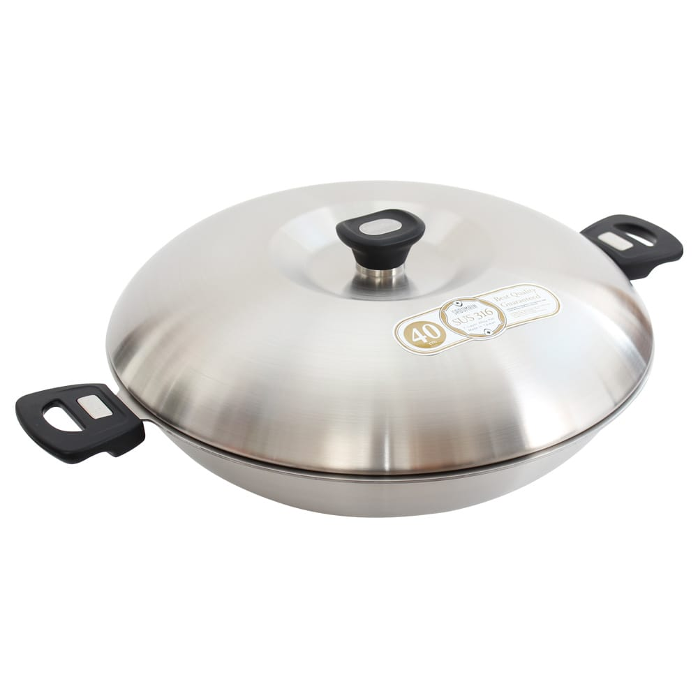 仙德曼Sadomain 316七層複合金炒鍋40cm