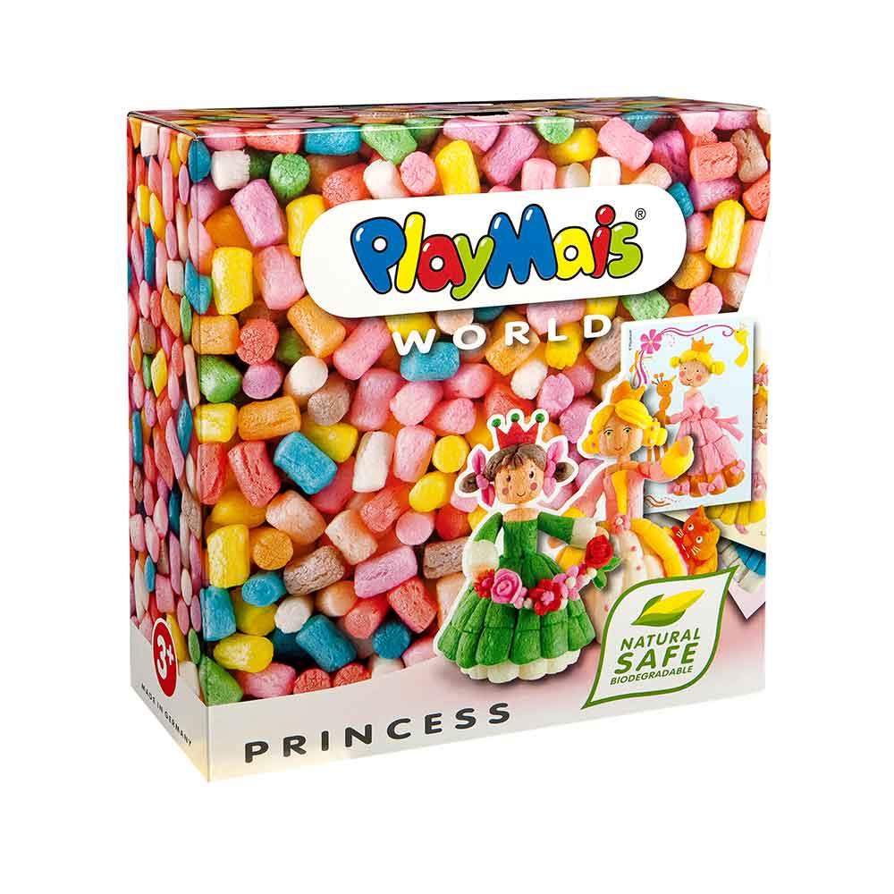 德國PlayMais 玩玉米黏土主題禮盒-漂亮公主