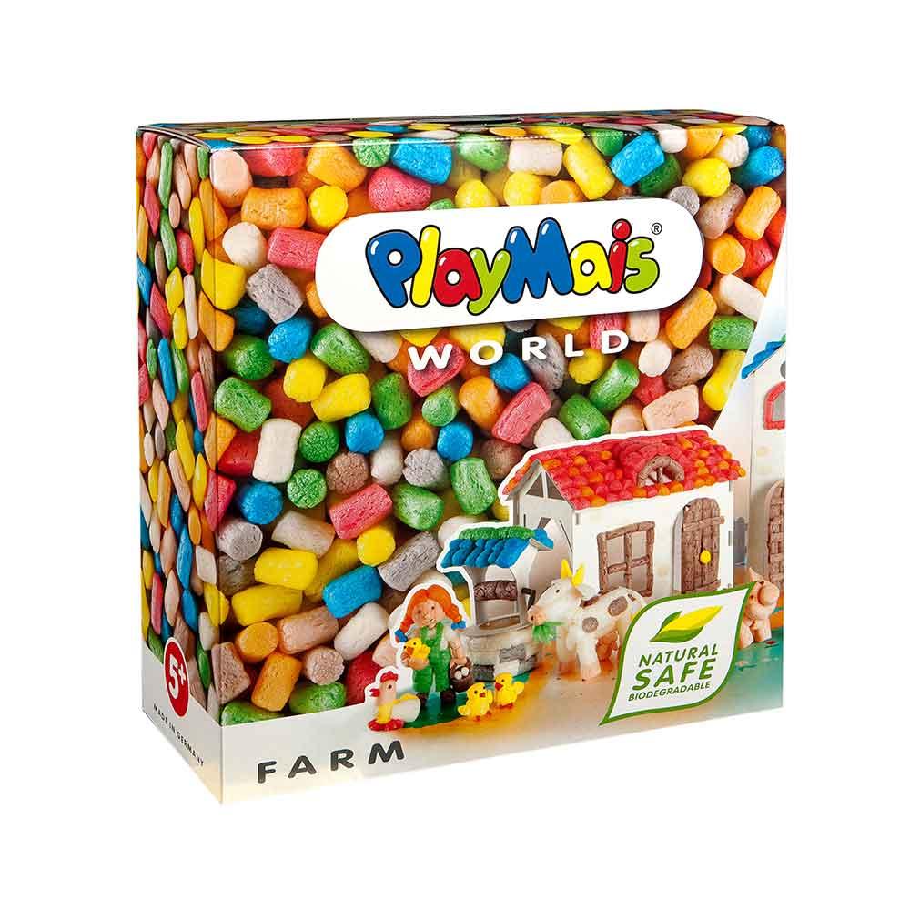 德國PlayMais 玩玉米黏土主題禮盒-農場假期