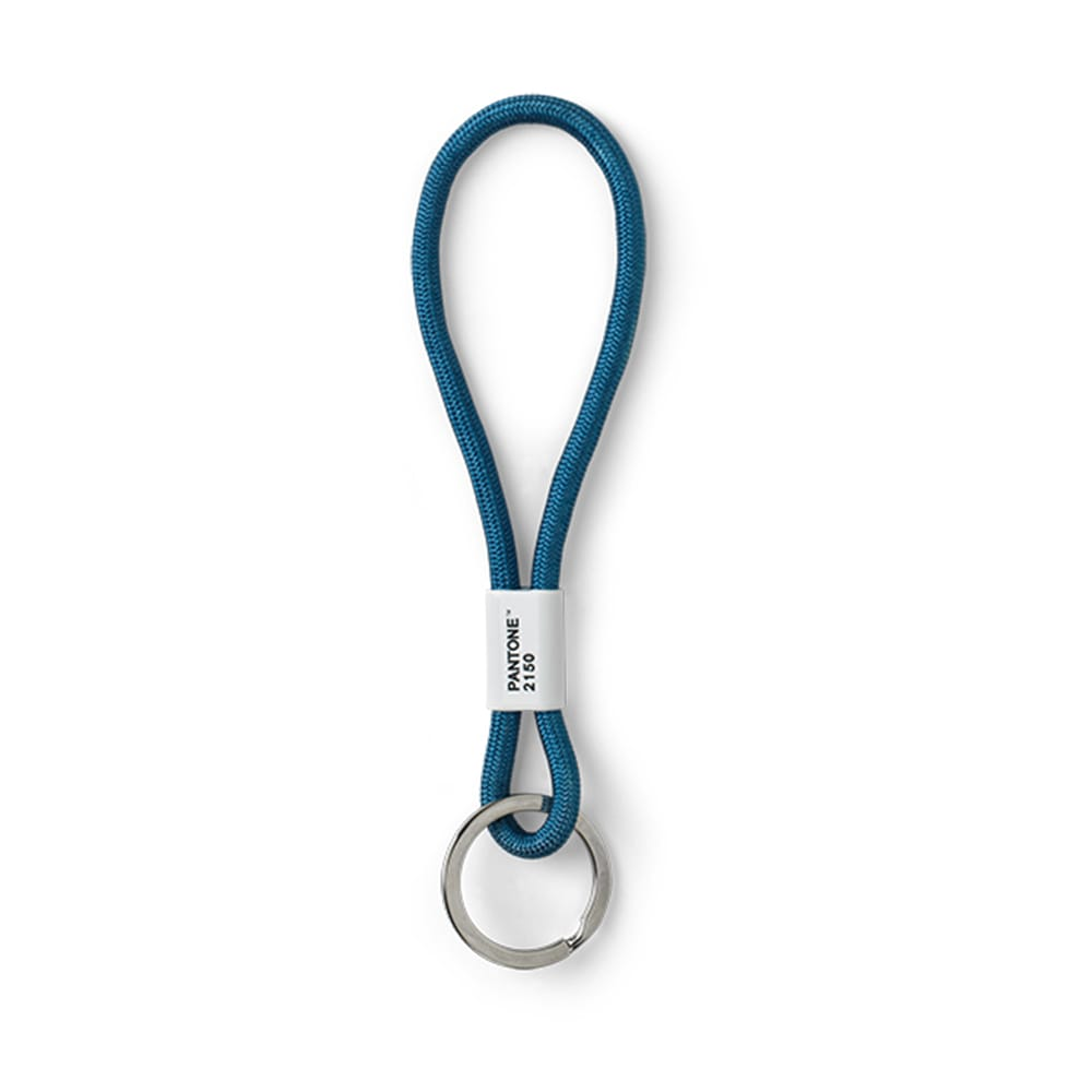美國 Pantone 色票鑰匙圈 短繩-藍色