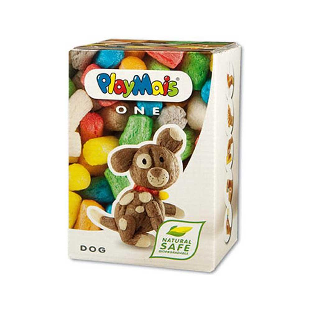 德國PlayMais 玩玉米黏土小巧盒-小狗