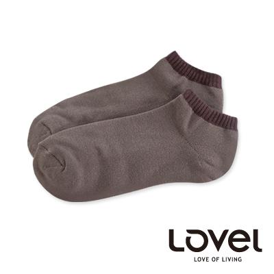 LOVEL雙色氣墊船型襪(可棕)