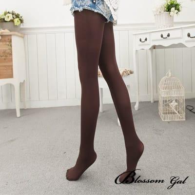 Blossom Gal韓國果漾亮彩褲襪/絲襪(咖啡)