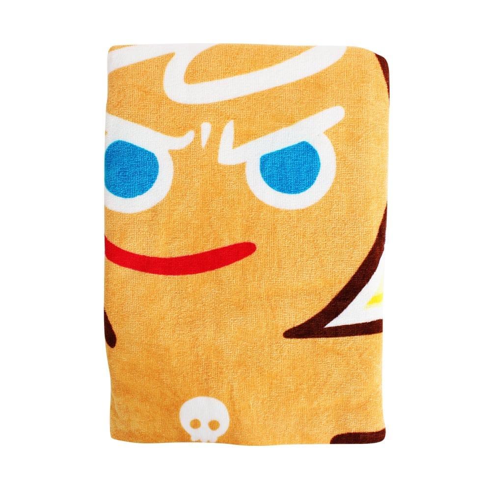 Line明星純棉浴巾(拐杖糖薑餅人)