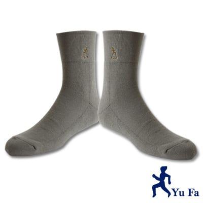 YuFa厚底加大寬口氣墊襪/紳士襪(淺綠)