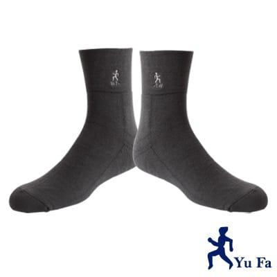 YuFa厚底加大寬口氣墊襪/紳士襪(墨綠)
