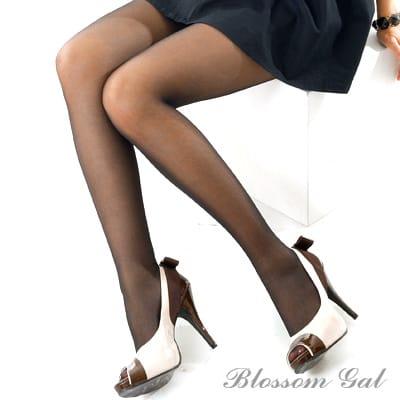 Blossom Gal全透明感輕薄性感玻璃絲襪(共兩色)