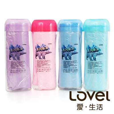 LOVEL 冰河極凍多功能冰涼大毛巾2入(共4色)