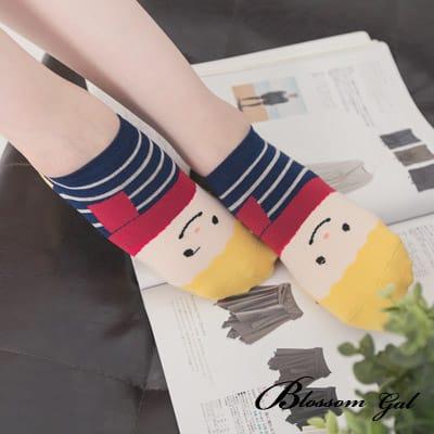 Blossom Gal 水手世家人物造型短襪(圍巾哥)