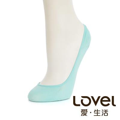 LOVEL 全新升級涼感雙止滑隱形襪套(薄綠)